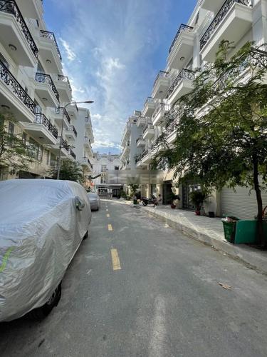 Đường trước nhà phố Quận 12 Nhà phố tại dự án Bảo Khang Residence diện tích 51.6m2, đầy đủ tiện ích.