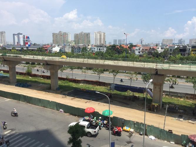 View căn hộ Masteri Thảo Điền, Quận 2 Căn hộ Masteri Thảo Điền tầng 5 có 2 phòng ngủ, không gian thoáng đãng.