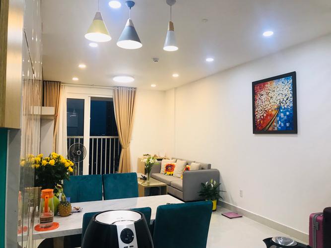 Căn hộ Tara Residence tầng 18 thiết kế hiện đại, đầy đủ nội thất.