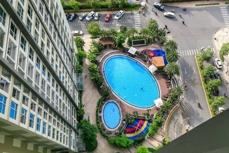 Căn hộ Vinhomes Central Park, Quận Bình Thạnh Căn hộ Vinhomes Central Park tầng 19 diện tích 82.1m2, đầy đủ nội thất.