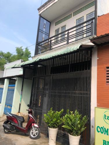 Nhà phố hẻm rộng 7m đường Nguyễn Văn Quá, ngay cầu Tham Lương.