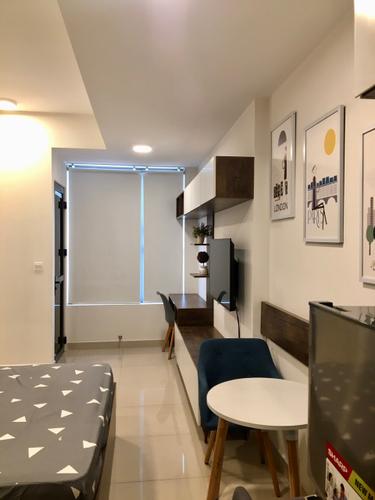 Căn hộ RiverGate Residence, Quận 4 Studio Rivergate Residence tầng 19 diện tích 26m2, đầy đủ nội thất.