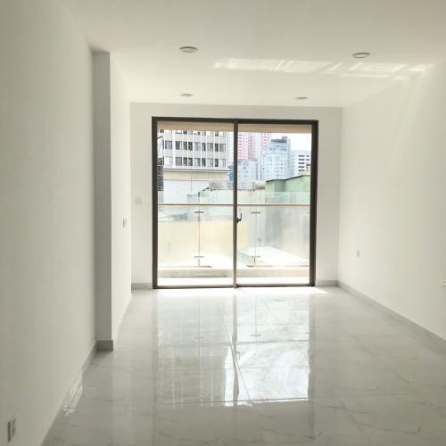 Phòng khách Masteri Millennium Quận 4 Officetel Masteri Millennium cửa hướng Đông, bàn giao không có nội thất.