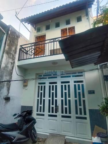 Nhà phố có sổ hồng riêng, thiết kế 1 trệt, 1 lầu đúc chắc chắn.