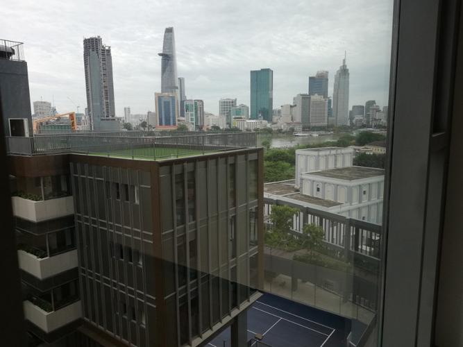 View căn hộ Empire City, Quận 2 Căn hộ Empire City tầng 8 cửa hướng Đông Bắc thoáng mát, nội thất cơ bản.