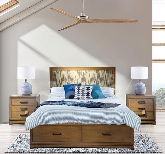 Tone nội thất Căn hộ Empire City tầng 16 có 1 phòng ngủ, bàn giao đầy đủ nội thất.