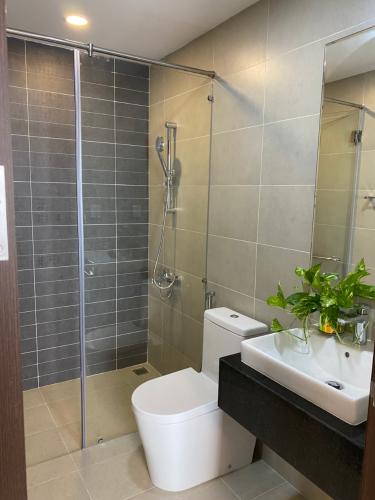 Nhà vệ sinh Sunrise Riverside Căn hộ Sunrise Riverside tầng cao, nội thất đầy đủ.