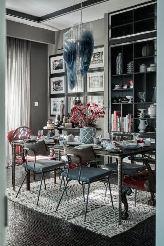 Nội thất căn hộ Gateway Thảo Điền, Quận 2 Căn hộ Gateway Thảo Điền nội thất nhập khẩu, được đăng trên tạp chí Elle Decoration 2019
