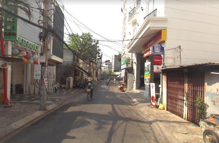 Đường trước căn hộ Dịch vụ Quận Phú Nhuận Căn hộ dịch vụ diện tích 25m2, thiết kế kỹ lưỡng đầy đủ nội thất.