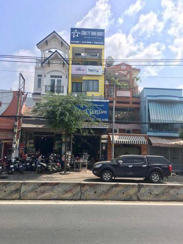 Mặt tiền nhà phố Huyện Nhà Bè Nhà phố mặt tiền đường Huỳnh Tấn Phát, ngay chợ Phú Xuân.