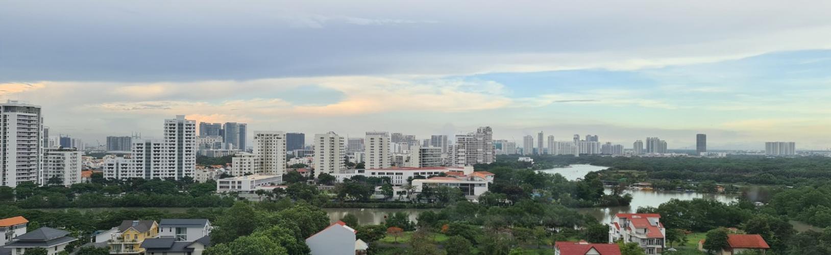 View Căn hộ Saigon South Residence tầng 12, không gian rộng rãi, thoáng mát.