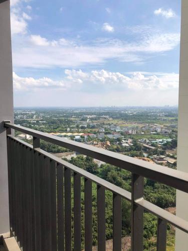 View căn hộ Vinhomes Grand Park, Quận 9 Căn hộ tầng 26 Vinhomes Grand Park diện tích 59.1m2, nội thất cơ bản.