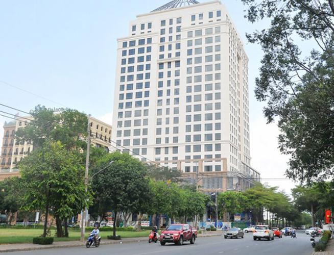 Golden King, Quận 7 Officetel Golden King tầng 10 diện tích 48m2, bàn giao đầy đủ nội thất.