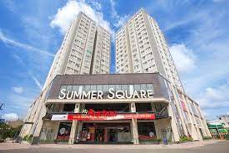 Căn hộ Summer Square, Quận 6 Căn hộ Summer Square tầng 9 cửa hướng Đông, ban công đón gió thoáng mát.