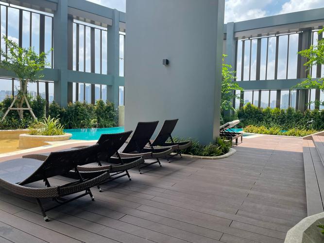 Tiện ích căn hộ Empire City, Quận 2 Căn hộ cao cấp Empire City tầng 14 thiết kế 2 phòng nugr, nội thất cơ bản.