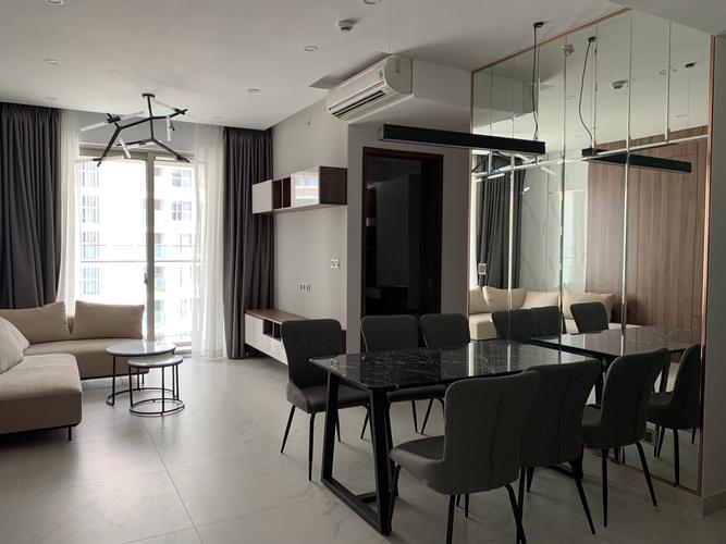 Căn hộ Phú Mỹ Hưng Midtown, Quận 7 Căn hộ Phú Mỹ Hưng Midtown tầng 10 thiết kế hiện đại, đầy đủ nội thất.