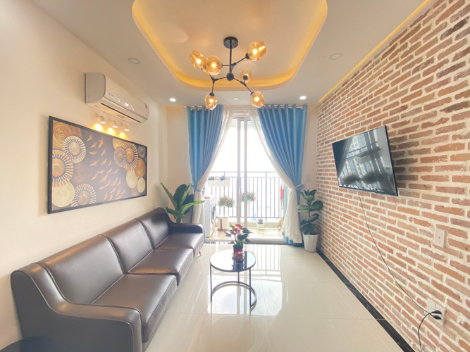 Căn hộ RichStar, Quận Tân Phú Căn hộ RichStar tầng 21 view ngắm pháo hoa tuyệt đẹp, đầy đủ nội thất.