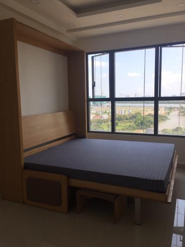 Phòng ngủ căn hộ The Sun Avenue, Quận 2 Căn hộ The Sun Avenue tầng 13 view thành phố, đầy đủ nội thất.