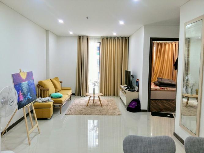 Căn hộ 2 phòng ngủ HaDo Centrosa Garden tầng 6, nội thất cơ bản.