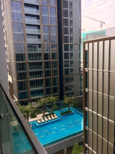 Căn hộ Empire City, Quận 2 Căn hộ Empire City tầng 10 cửa hướng Tây Bắc, view sông Sài Gòn thoáng mát.
