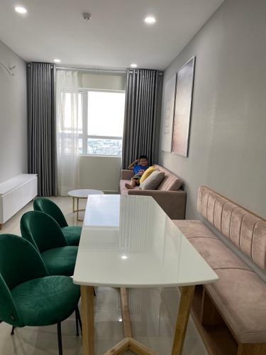 Căn hộ Topaz Elite tầng 30 diện tích 60m2, bàn giao đầy đủ nội thất.