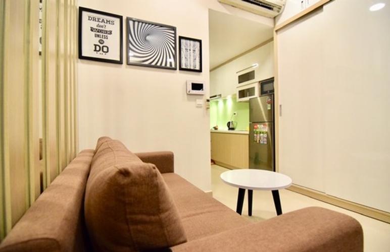 Studio RiverGate Residence, Quận 4 Studio Rivergate Residence tầng 20 view thành phố sầm uất, đầy đủ nội thất.