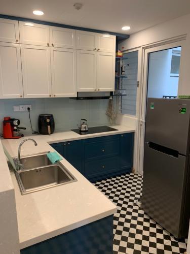 Phòng bếp , Căn hộ Vista Verde , Quận 2 Căn hộ Vista Verde tầng 20 view thoáng mát, đầy đủ nội thất hiện đại.