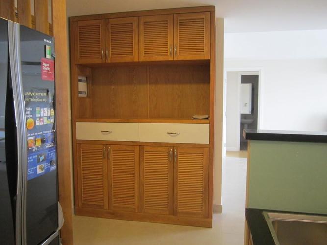 Căn hộ Masteri Thảo Điền, Quận 2 Căn hộ Masteri Thảo Điền tầng 18 có 3 phòng ngủ, đầy đủ nội thất.