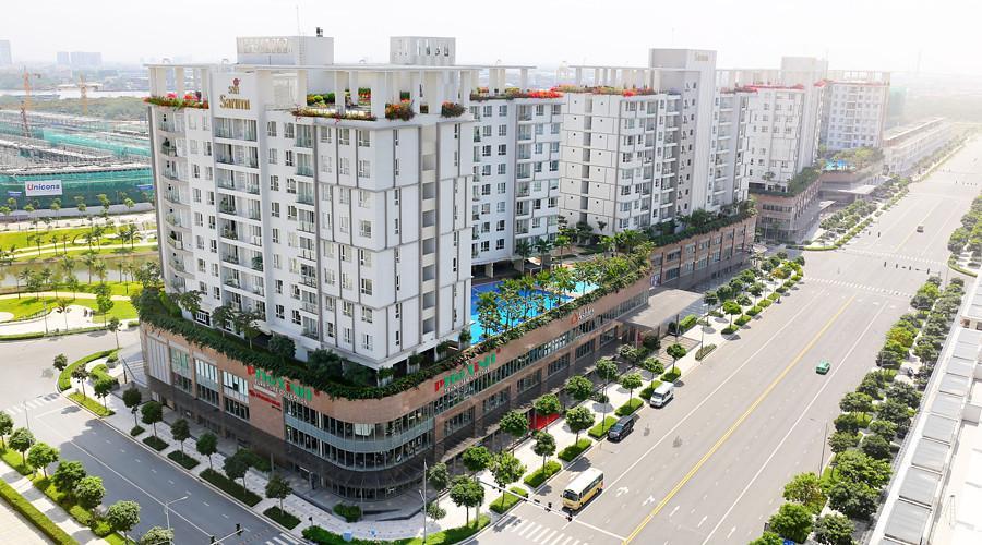 Căn hộ Sarimi Sala Đại Quang Minh, Quận 2 Căn hộ Sarimi Sala Đại Quang Minh diện tích 96m2, nội thất cơ bản.