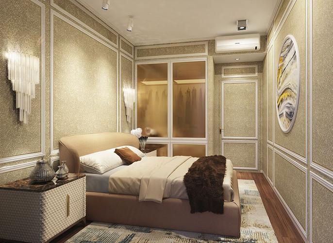 Nhà mẫu căn hộ Empire City, Quận 2 Căn hộ Empire City tầng 18 cửa hướng Đông bắc, đầy đủ nội thất.