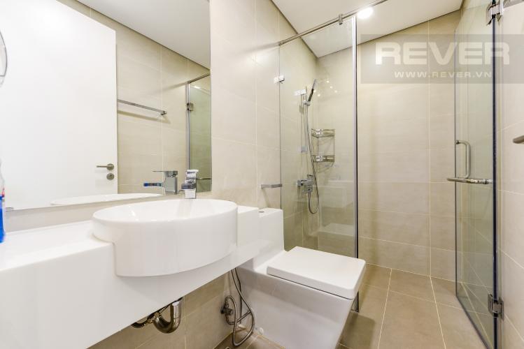 Phòng tắm 2 Cho thuê căn hộ Masteri Millennium tầng cao 2PN view sông