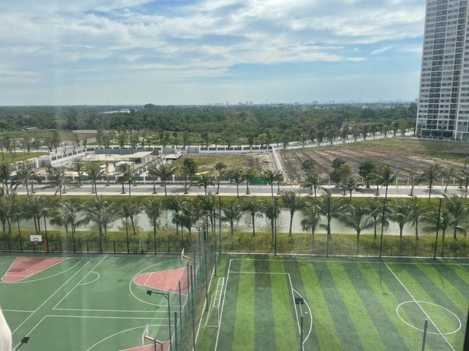 view Căn hộ Vinhomes Grand Park quận 9 Căn hộ tầng 7 Vinhomes Grand Park nội thất cơ bản, view nội khu