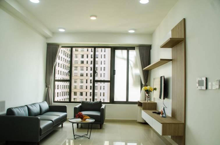 Căn hộ The Tresor tầng 10 diện tích 65m2, bàn giao đầy đủ nội thất.