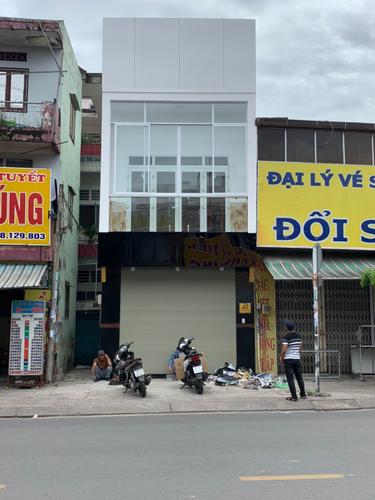 Mặt bằng kinh doanh Quận Tân Phú Mặt bằng kinh doanh kết cấu 1 trệt, 1 lầu, khu vực kinh doanh sầm uất.