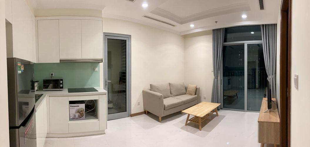 Căn hộ Vinhomes Central Park, Quận Bình Thạnh Căn hộ Vinhomes Central Park tầng 21 thiết kế 2 phòng ngủ, đầy đủ nội thất.