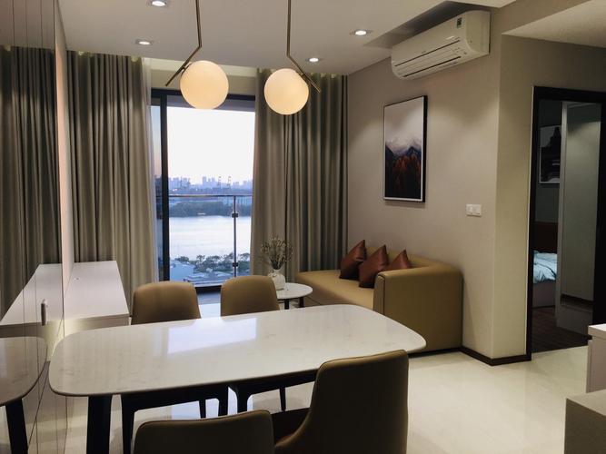 Căn hộ One Verandah tầng 12 diện tích 79.05m2, view sông đón gió mát.