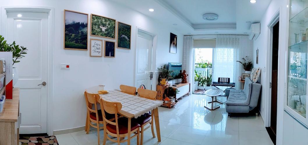 Căn hộ Saigon Mia tầng 12 ban công hướng Tây, view thoáng mát.
