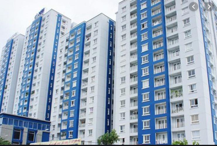 Căn hộ chung cư Kim Sơn, Bình Thạnh Căn hộ chung cư Kim Sơn tầng 1 đầy đủ nội thất, cửa chính hướng Bắc thoáng mát