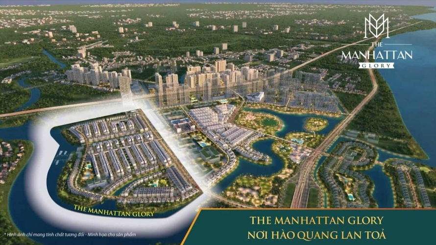 Vinhomes Grand Park, Quận 9 Shophouse The Manhattan Glory- Vinhomes Grand Park diện tích 96m2.