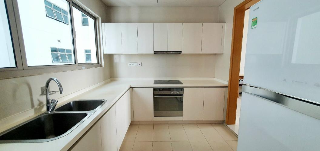 bếp căn hộ The Vista An Phú Căn hộ The Vista An Phú tầng 11 bàn giao nội thất đầy đủ