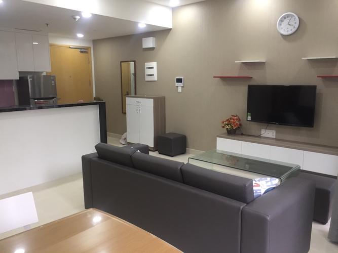 Căn hộ Masteri Thảo Điền, Quận 2 Căn hộ Masteri Thảo Điền tầng 5 có 2 phòng ngủ, không gian thoáng đãng.