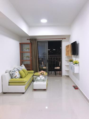 Phòng khách Officetel The Sun Avenue Officetel The Sun Avenue 1PN, diện tích 51.15m2, đầy đủ nội thất
