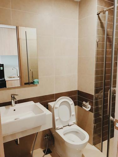 Căn hộ RiverGate Residence, Quận 4 Studio Rivergate Residence tầng 7 thiết kế 1 phòng ngủ, đầy đủ nội thất.