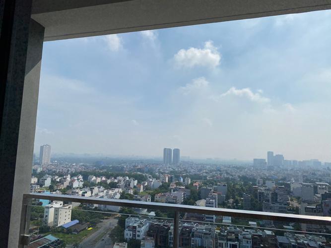 View căn hộ One Verandah, Quận 2 Căn hộ One Verandah tầng 16 view thành phố, bàn giao nội thất cơ bản.