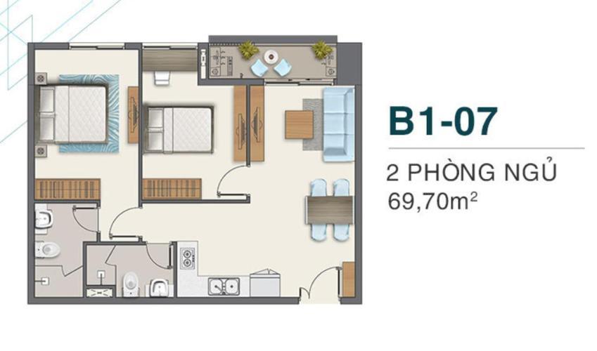 căn hộ Q7 Boulevard Căn hộ Q7 Boulevard nội thất cơ bản, view hồ bơi nội khu.