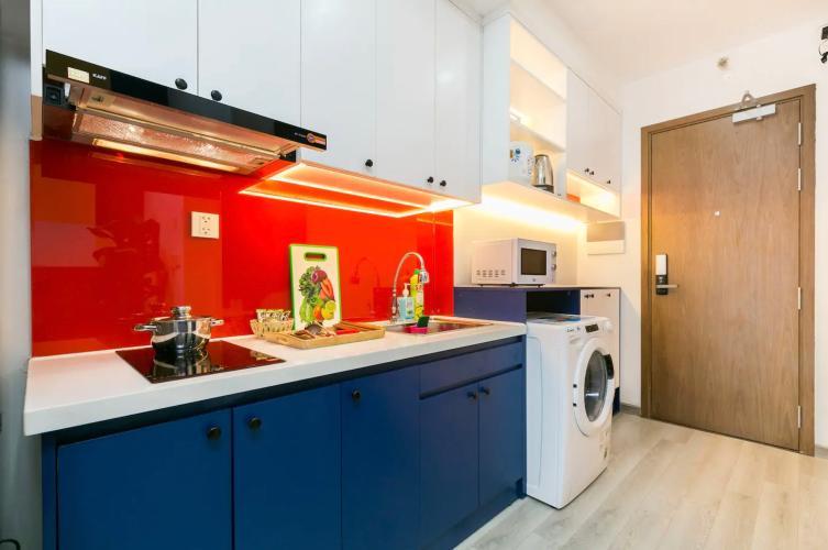 Phòng bếp căn hộ MASTERI MILLENNIUM Bán căn hộ Masteri Millennium 1PN, tầng thấp, đầy đủ nội thất, view trực diện hồ bơi