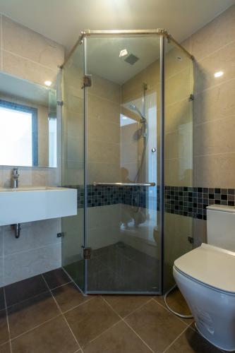 Phòng tắm căn hộ The Tresor Căn hộ The Tresor tầng cao 2 phòng ngủ view nội khu.