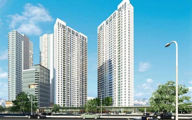 căn hộ Masteri An Phú Căn hộ Office -tel tháp A Masteri An Phú, view nội khu mát mẻ