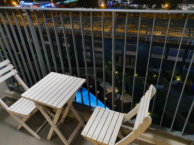 Tiện ích căn hộ Masteri Thảo Điền, Quận 2 Căn hộ tầng 11 Masteri Thảo Điền view nội khu hồ bơi, đầy đủ nội thất.