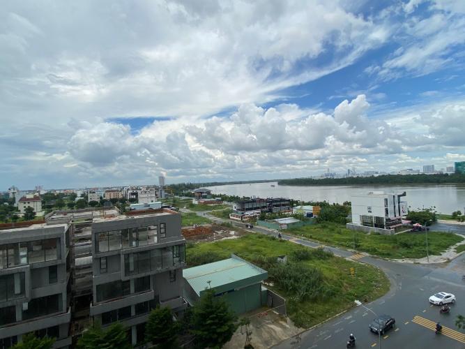 View One Verandah Quận 2 Căn hộ One Verandah tầng thấp, view thành phố và sông.